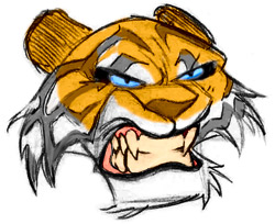 how-to-draw-a-tiger-head